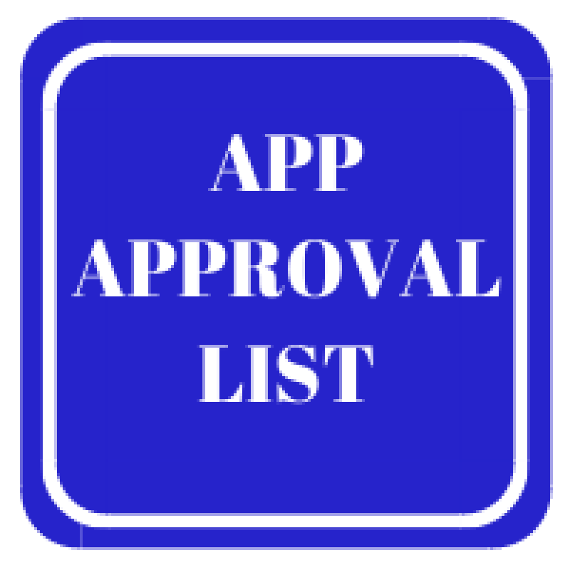 APPROVAL LIST