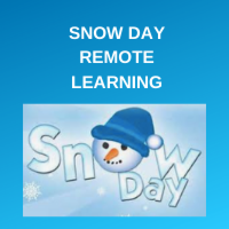 Snow Day Remote Learning